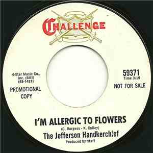 The Jefferson Handkerchief - I'm Allergic To Flowers / The Little Matador download mp3