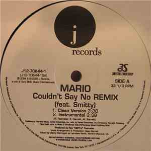 Mario Feat. Smitty  - Couldn't Say No (Remix) download mp3