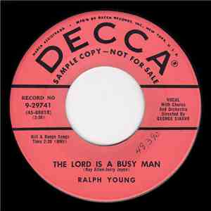 Ralph Young - The Lord Is A Busy Man / Arrivederci, Roma (Goodbye To Rome) download mp3