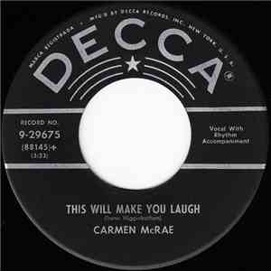 Carmen McRae - Love Is Here To Stay / This Will Make You Laugh download mp3