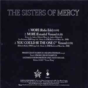 The Sisters Of Mercy - More download mp3