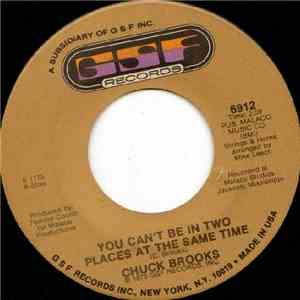 Chuck Brooks - You Can't Be In Two Places At The Same Time / Behind Closed Doors download mp3