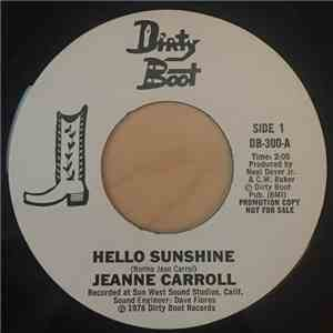 Jeanne Carroll - Hello Sunshine / If Broken Hearts Could Cry download mp3